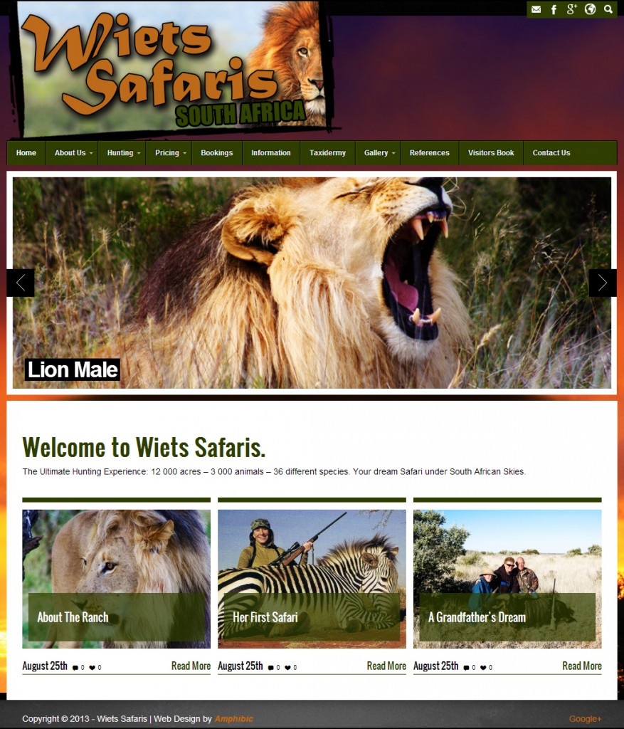 Wiets Safaris: Professional Trophy Hunting Safaris in South Africa